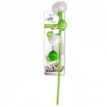 All For Paws Modern Cat Fluffy Wand - Green