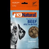 K9 Natural Freeze Dried Healthy Bites Beef Dog Treats 50g