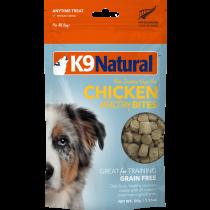 K9 Natural Freeze Dried Healthy Bites Chicken Dog Treats 50g
