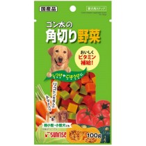 Sunrise Cube Vegetable For Dog 100g  (VEG100)