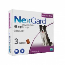 NexGard Chews For Large Dogs 10-25kg - 3 & 6 Tablets