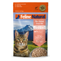 Feline Natural Freeze Dried Lamb & Salmon - Available in 320g & 960g