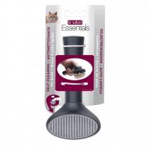 Le Salon Essentials Cat Self-Cleaning Slicker Brush