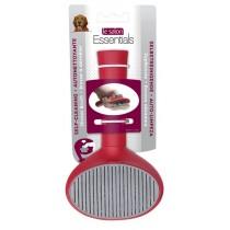 Le Salon Essentials Dog Self-Cleaning Slicker Brush