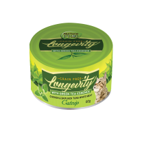 Nurture Pro Cat Canned Longevity GF Chicken & Tuna with Catnip - 80g