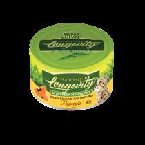 Nurture Pro Cat Canned Longevity GF Chicken & Tuna with Papaya - 80g