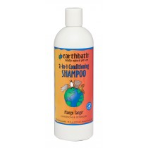 Earthbath 2 in 1 Conditioning Shampoo Mango Tango - Available in 16oz & 1 Gallon