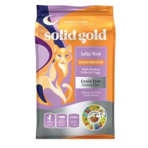 Solid Gold Cat GF Indigo Moon with Alaskan Pollock & Eggs 12lbs