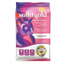 Solid Gold Cat Katz n Flocken - Lamb & Brown Rice Recipe With Pearled Barley 4lbs