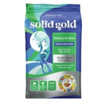 Solid Gold Dog Barking at the Moon - Duck, Peas & Eggs Recipe 4lbs
