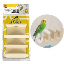 Marukan Wooden Hurlder for Birds [MB111]