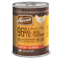 Merrick Dog Canned Grain Free - 96% Real Chicken 374g
