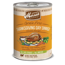 Merrick Dog Canned Classic Recipe Grain Free - Thanksgiving 374g