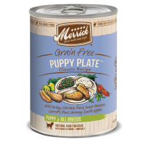Merrick Dog Canned Classic Recipe Grain Free - Puppy Plate 374g
