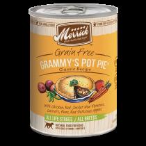 Merrick Dog Canned Classic Recipe Grain Free - Grammy's Pot Pie 374g