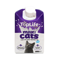 TopLife Cows' Milk For Cats 200ml