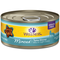 Wellness Cat Canned Complete Health™ Minced Tuna Dinner 5.5oz