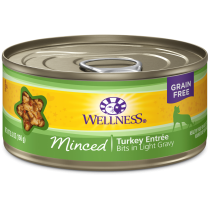 Wellness Cat Canned Complete Health™ Minced Turkey Dinner 5.5oz