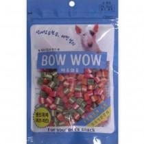 Bow Wow Dog Treats Mixed Cheese Sandwich Cuts 120g