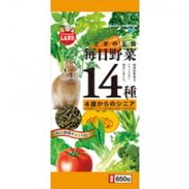 Marukan Daily Veggies 14 Senior for Rabbit 650g [ML40]
