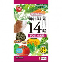 Marukan Diet Food for Guinea Pig with 14 Kinds of Vegetables 550g [ML61]