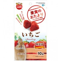 Marukan Freeze Dried Strawberry For Small Animals 10g [ML84]