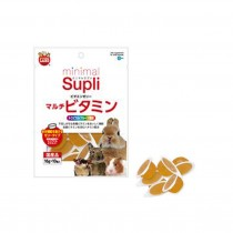 Marukan Minimal Supli Vitamin Jelly Supplement (Tropical Fruit) For Small Animals 50g [ML97]