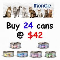 Monge 'Cat Canned Delicate Bundle - Bundle Mix - Buy Any 24 for $42