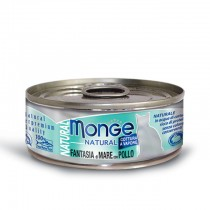 Monge Cat Canned Natural Seafood Mixed with Chicken 80g