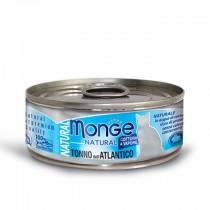 Monge Cat Canned Natural Atlantic Tuna 80g