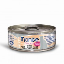Monge Cat Canned Delicate Chicken with Potatoes & Carrots 80g