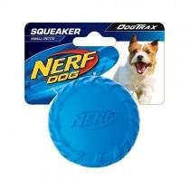 Nerf Dog Squeaker Tire Ball S - Blue/Green