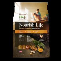 Nurture Pro Cat Mature 7+ Nourish Life Chicken 'Formula - 4lbs