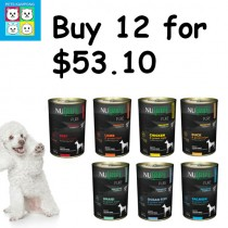 'Nutripe' Dog Canned Pure Buy 12 for $53.10