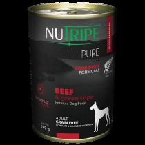 Nutripe Dog Canned Pure Beef & Green Tripe Formula 390g