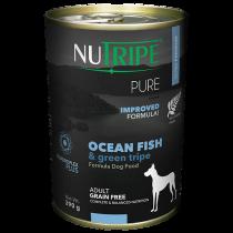 Nutripe Dog Canned Pure Ocean Fish & Green Tripe Formula 390g