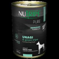 Nutripe Dog Canned Pure Unagi & Green Tripe Formula 390g