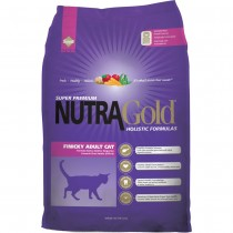 NutraGold Cat Holistic Finicky Adult Cat - 7.5kg
