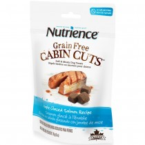 Nutrience Grain Free Cabin Cuts Maple Glazed Salmon Dog Treats 170g