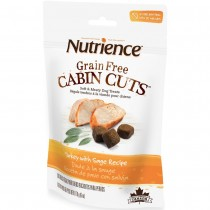 Nutrience Grain Free Cabin Cuts Turkey With Sage Dog Treats 170g
