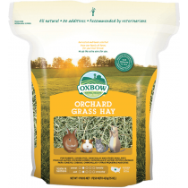 Oxbow Farm Fresh Orchard Grass Hay - Available in 15oz &  40oz
