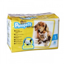 Pampets Pet Diaper S 16pcs