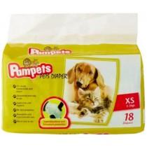 Pampets Pet Diaper XS 18pcs