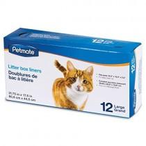 Petmate Cat Litter Box Liner 12 Large