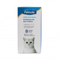 Petmate Cat Litter Box Liner 8 Jumbo