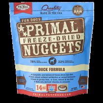Primal Freeze-Dried Canine Duck Formula - 14oz.