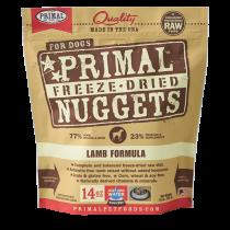Primal Freeze-Dried Canine Lamb Formula - 14oz.