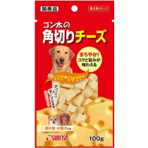 Sunrise Cube Cheese For Dog 100g