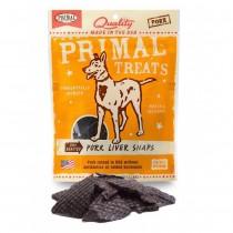 Primal Treats Dry Roasted Pork Liver Snaps 4.25oz