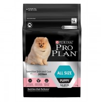 Pro Plan Dog - Sensitive Skin & Coat with Optiderma Puppy All Size 2.5kg